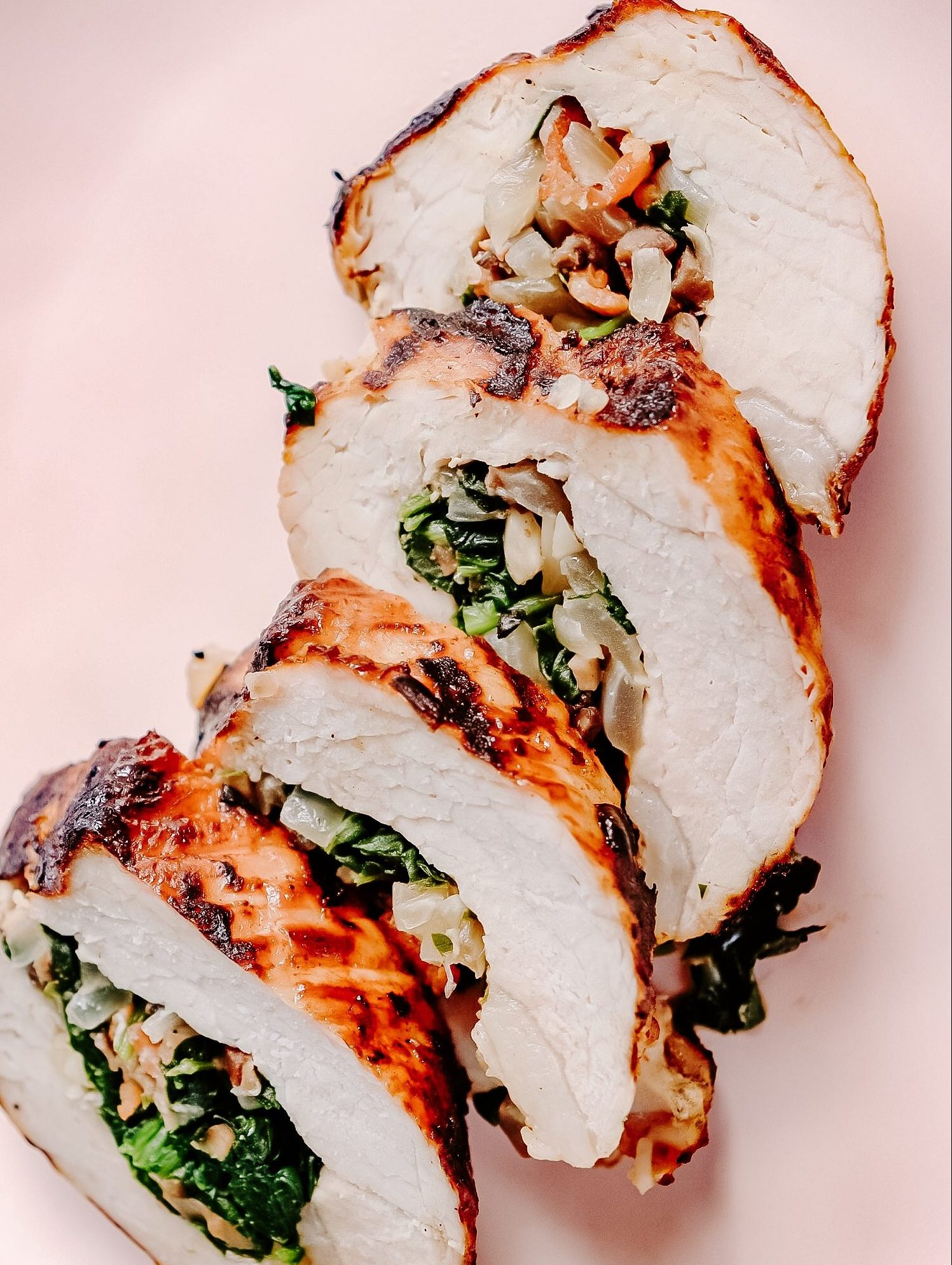 Best Grilled Garlic Herb Pork Loin (For 2 person)