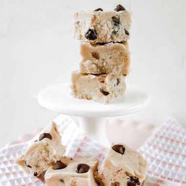 vegan edible cookie dough hero shot