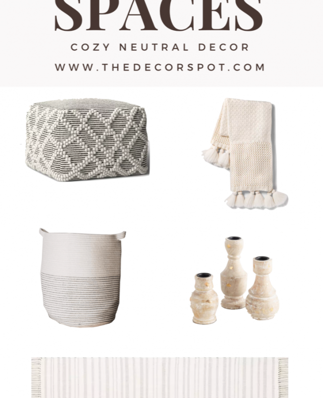 Cozy Neutral Decor