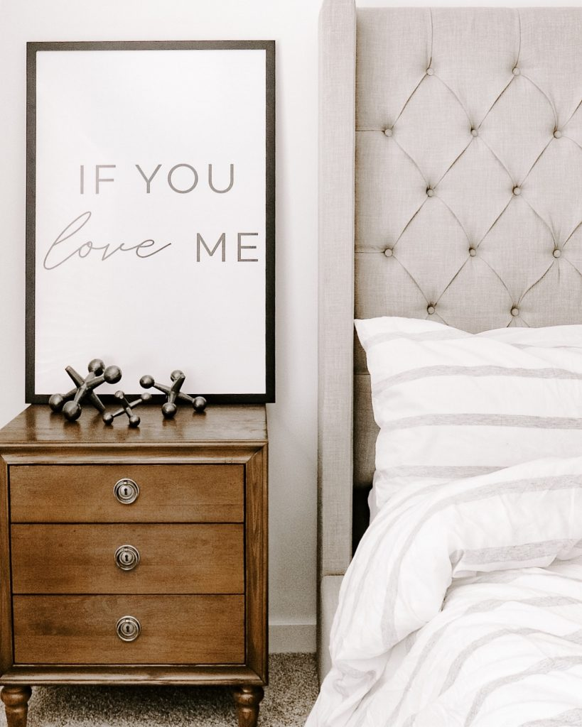 If you love me bed image make your bedroom comfy