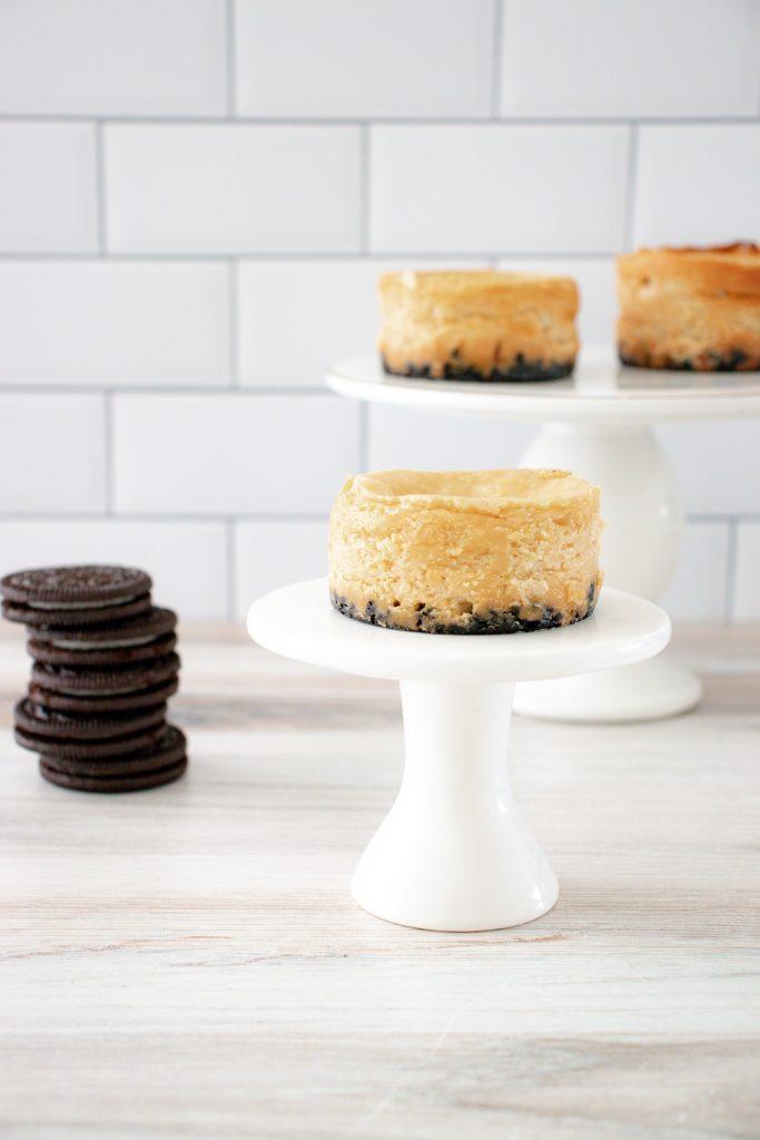 Peanut Butter Oreo Cheesecake Minis