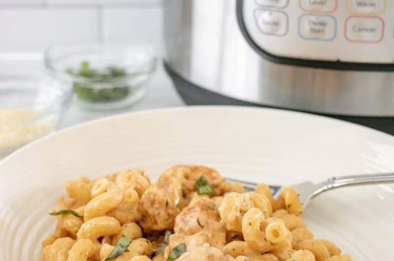 Hero image for Instant Pot Gooey Cheesy Garlic Pasta