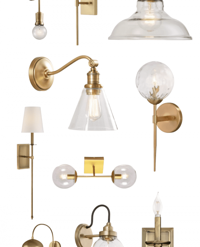 Brass sconce round up hero image