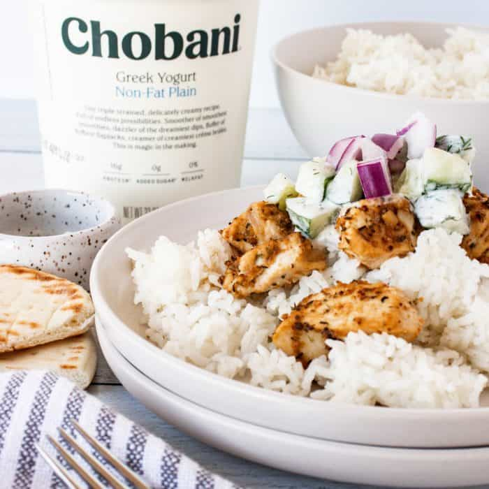 Chobani Greek Yogurt Greek Chicken
