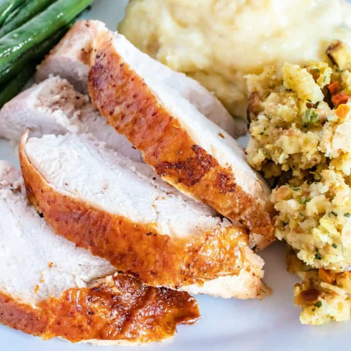 Old Bay Butter Roasted Turkey Breast